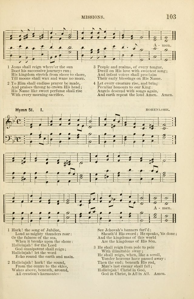 The Sunday School Hymnal  page 105