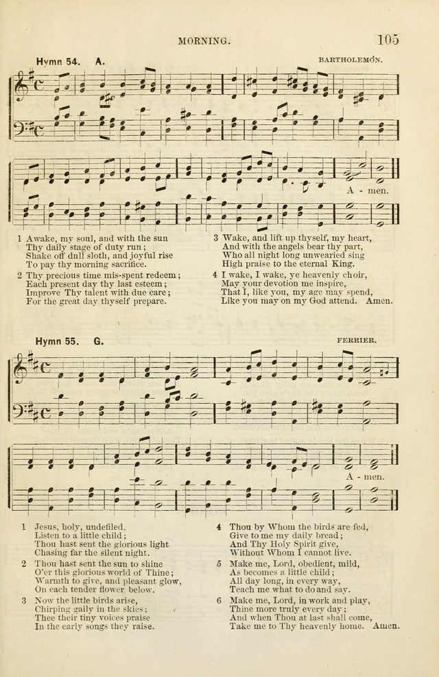 The Sunday School Hymnal  page 107