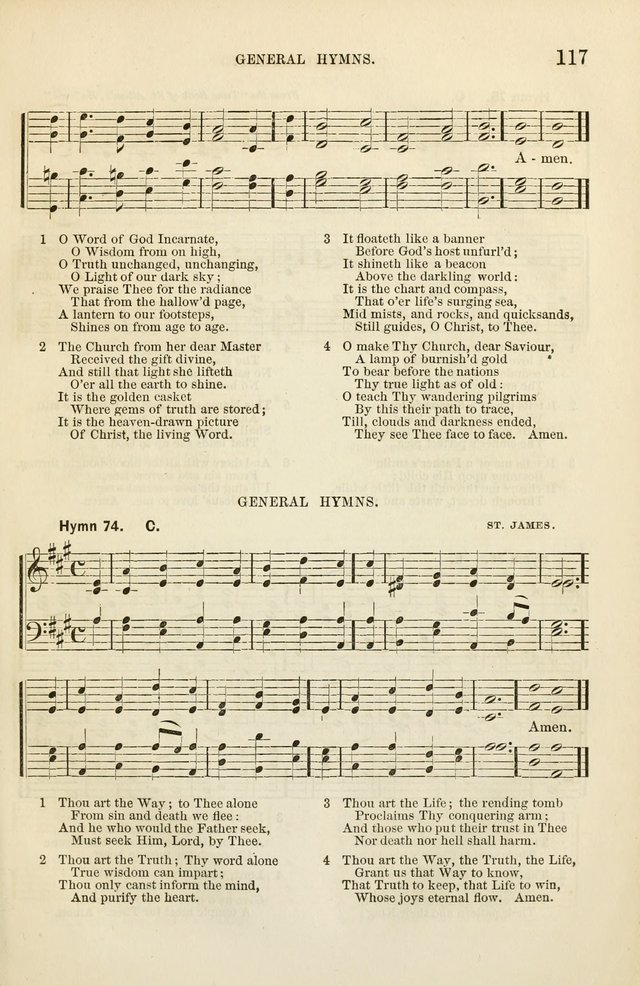 The Sunday School Hymnal  page 119