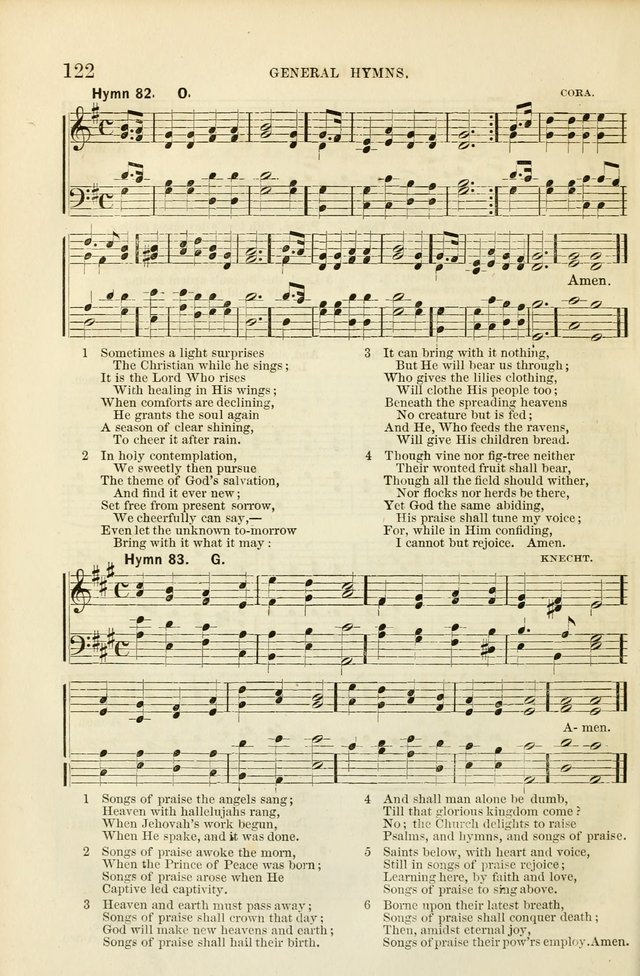 The Sunday School Hymnal  page 124