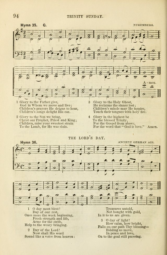 The Sunday School Hymnal  page 96