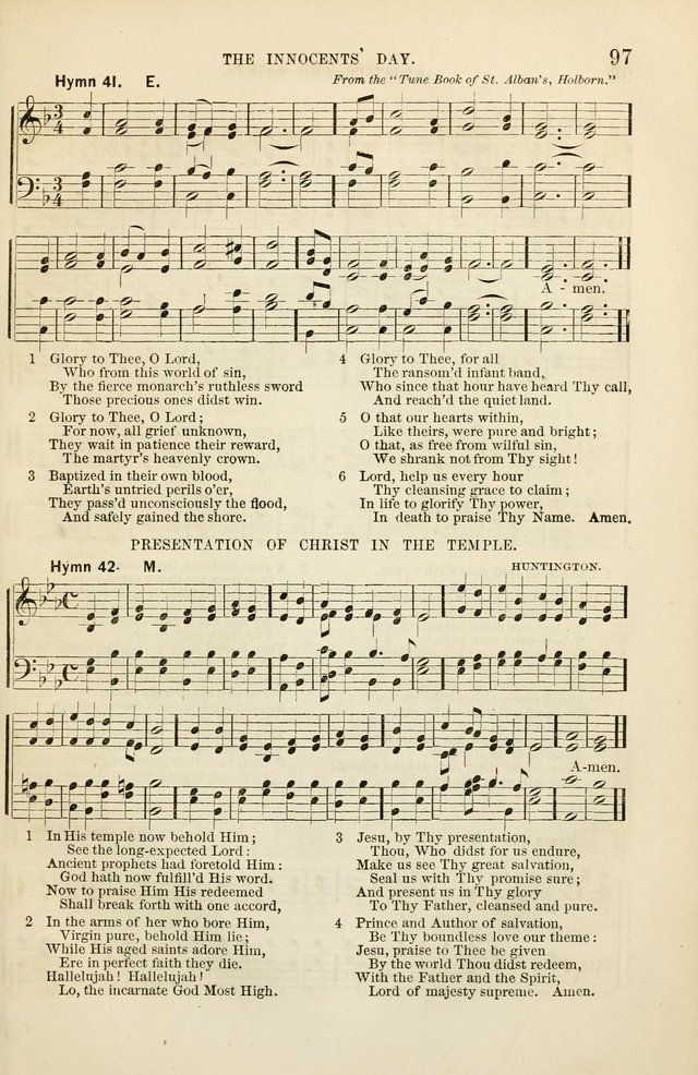 The Sunday School Hymnal  page 99