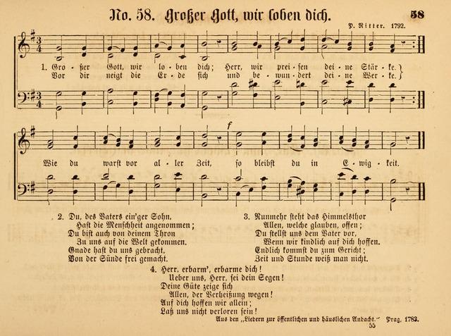 Lied Großer Gott Wir Loben Dich