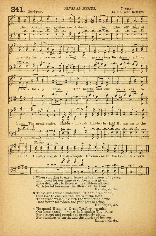 The Sunday-School Hymnal and Service Book (Ed. A) page 212