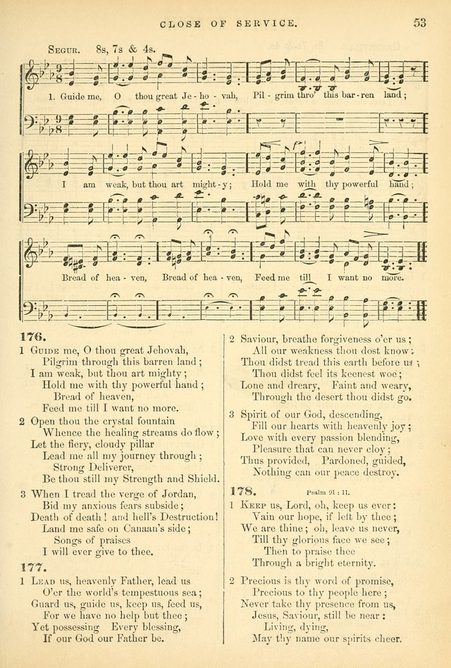 Songs for the Sanctuary: or hymns and tunes for Christian worship page 53