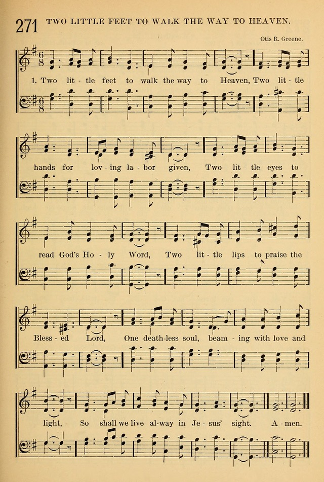 The Sunday School Hymnal: with offices of devotion page 253
