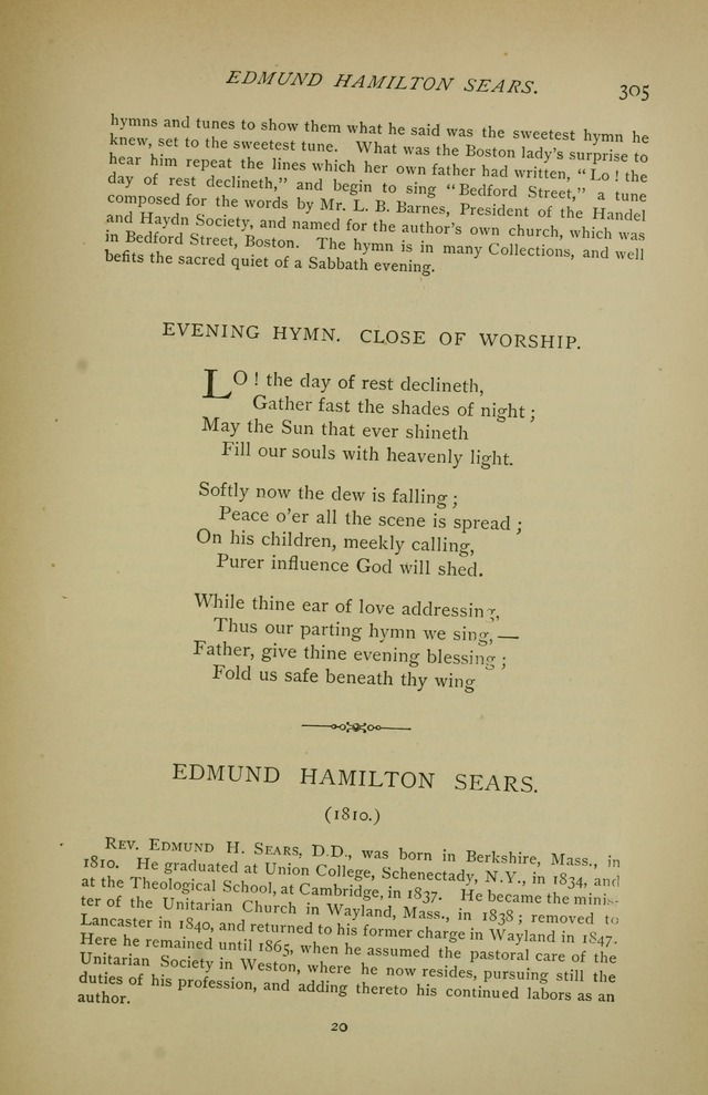 Singers and Songs of the Liberal Faith page 306
