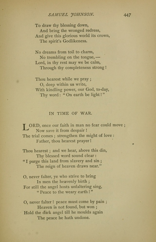 Singers and Songs of the Liberal Faith page 448