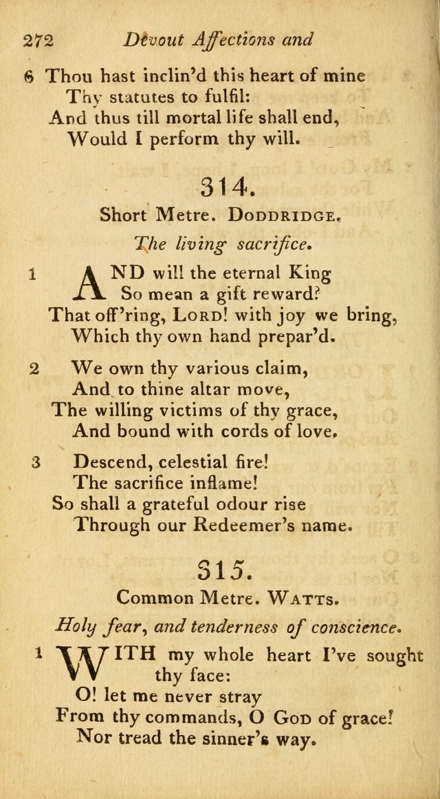 A Selection of Sacred Poetry: consisting of psalms and hymns from Watts, Doddridge, Merrick, Scott, Cowper, Barbauld, Steele, and others (2nd ed.) page 272
