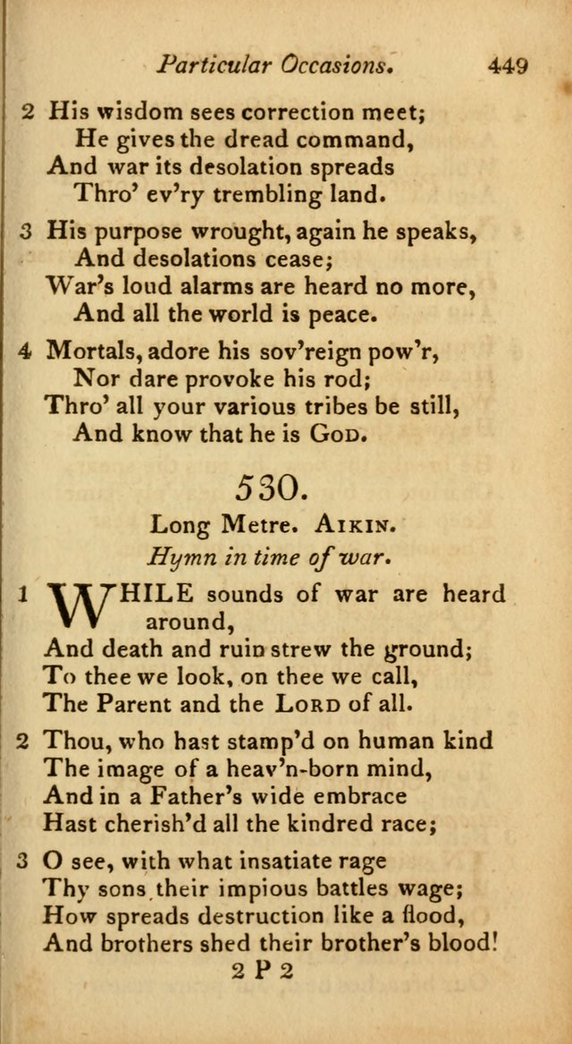 A Selection of Sacred Poetry: consisting of psalms and hymns from Watts, Doddridge, Merrick, Scott, Cowper, Barbauld, Steele, and others (2nd ed.) page 451