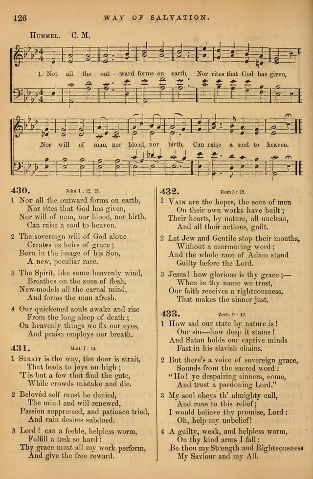 Songs for the Sanctuary; or Psalms and Hymns for Christian Worship (Baptist Ed.) page 127