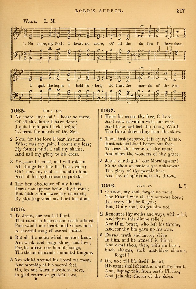 Songs for the Sanctuary; or Psalms and Hymns for Christian Worship (Baptist Ed.) page 318