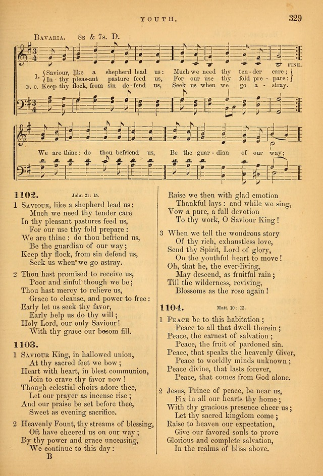 Songs for the Sanctuary; or Psalms and Hymns for Christian Worship (Baptist Ed.) page 330