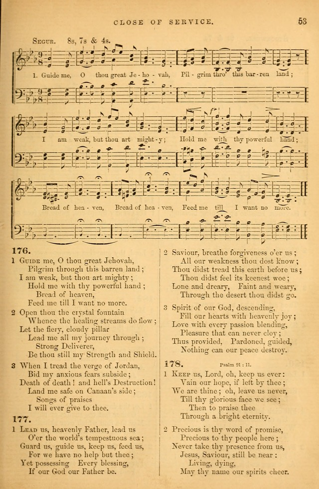 Songs for the Sanctuary; or Psalms and Hymns for Christian Worship (Baptist Ed.) page 54