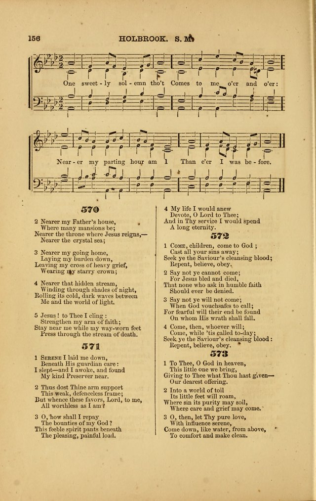 Songs for Social and Public Worship page 152
