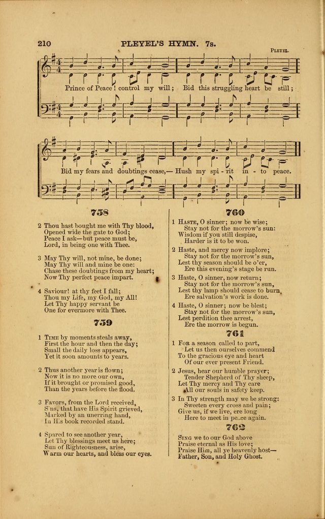 Songs for Social and Public Worship page 206