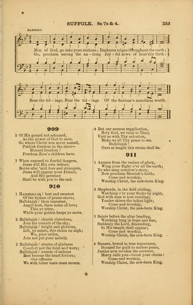 Songs for Social and Public Worship page 249