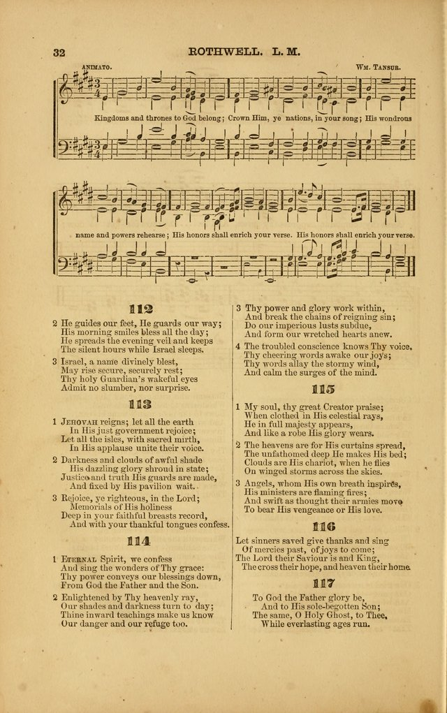 Songs for Social and Public Worship page 28