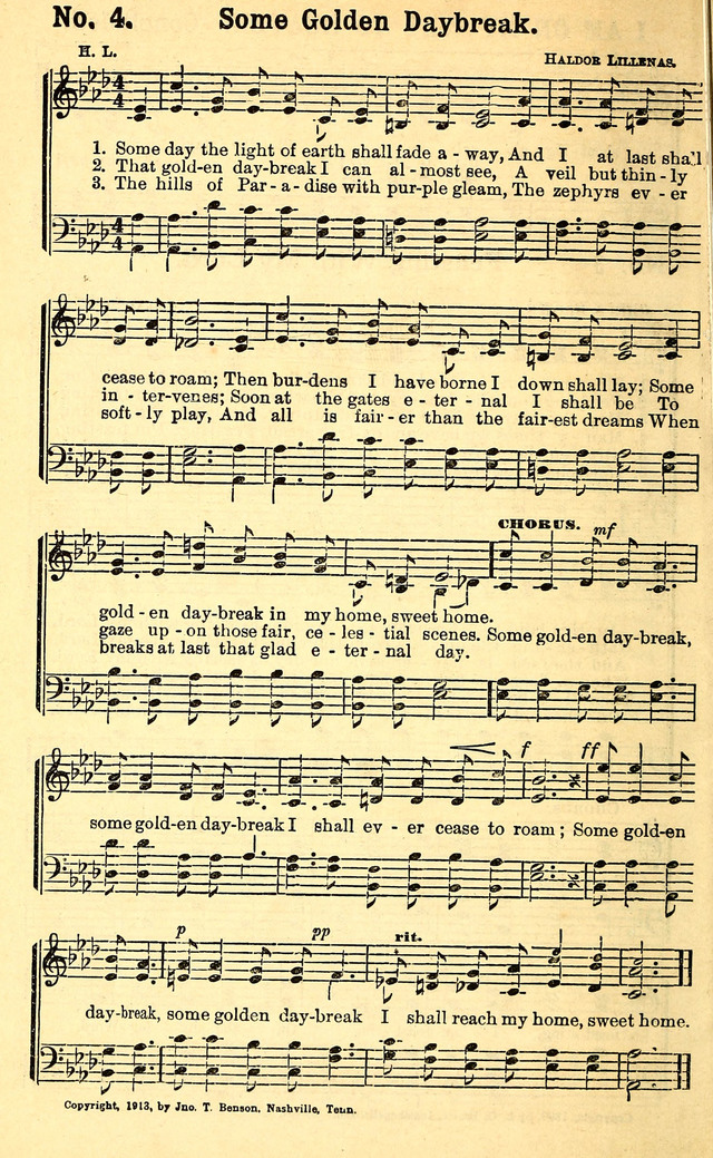 All Music Chords golden sheet music : Some day the light of earth shall fade away - Hymnary.org