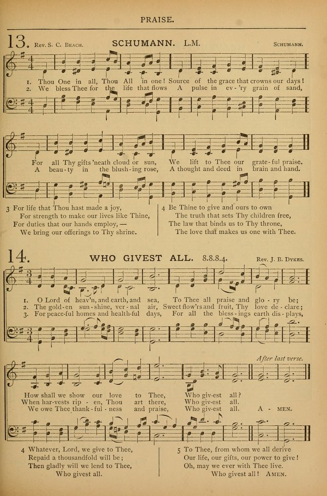 Sunday School Service Book and Hymnal page 126
