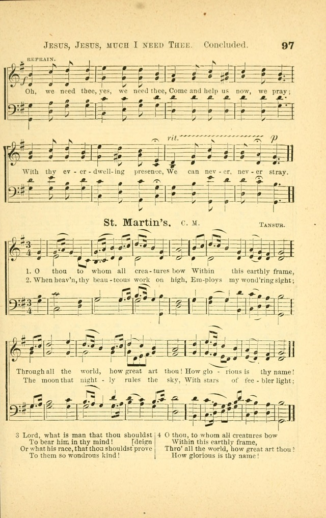 Songs for Sunday Schools and Gospel Meetings page 97