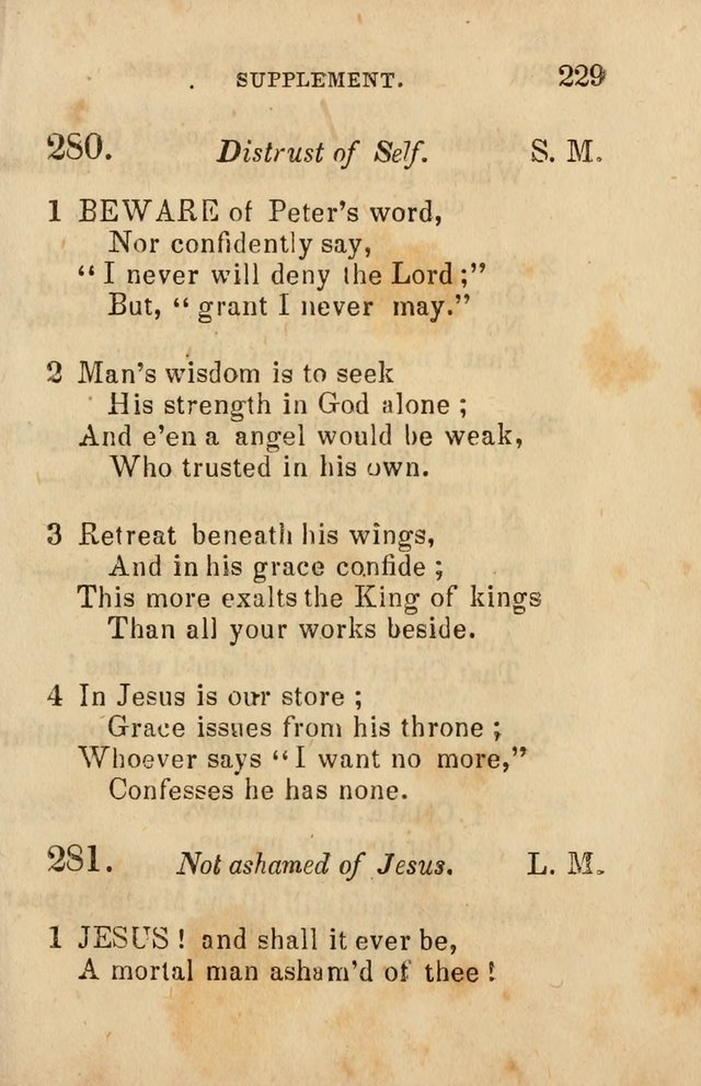 The Social and Sabbath School Hymn-Book. (5th ed.) page 232