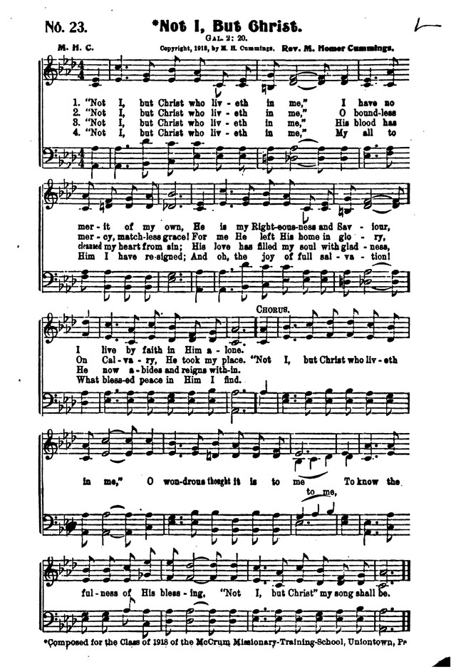 Songs of Salvation and Service. Revised page 23