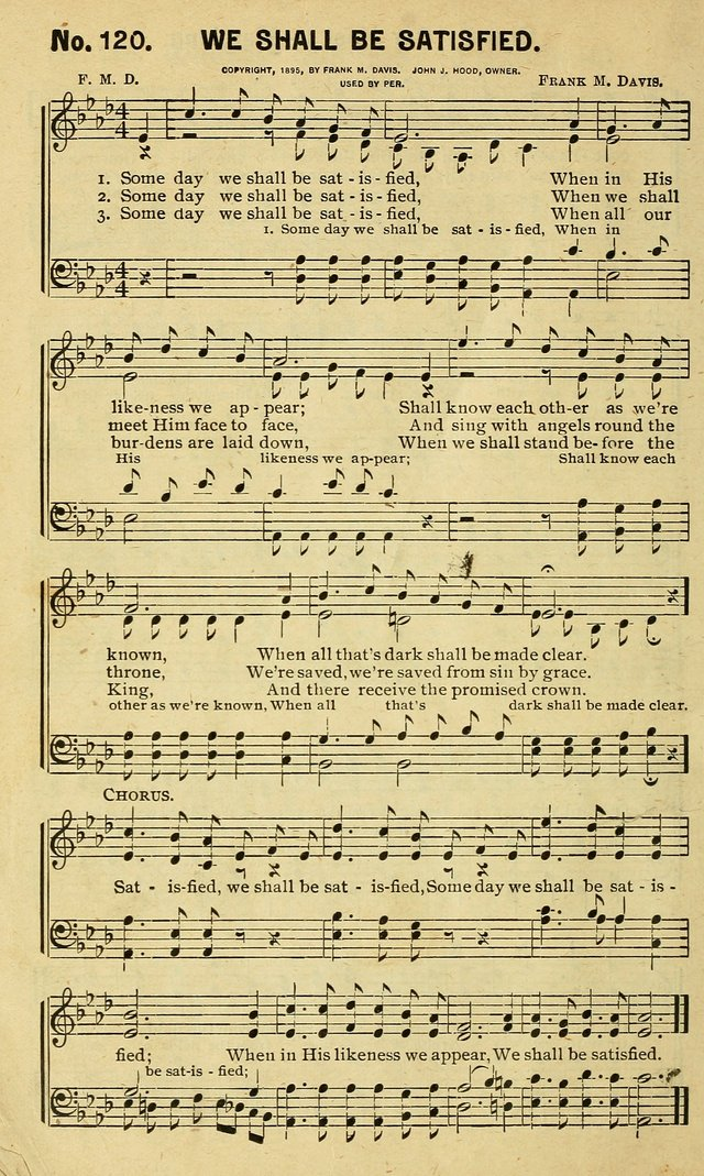 Special Songs: for Sunday schools, revival meetings, etc. page 122