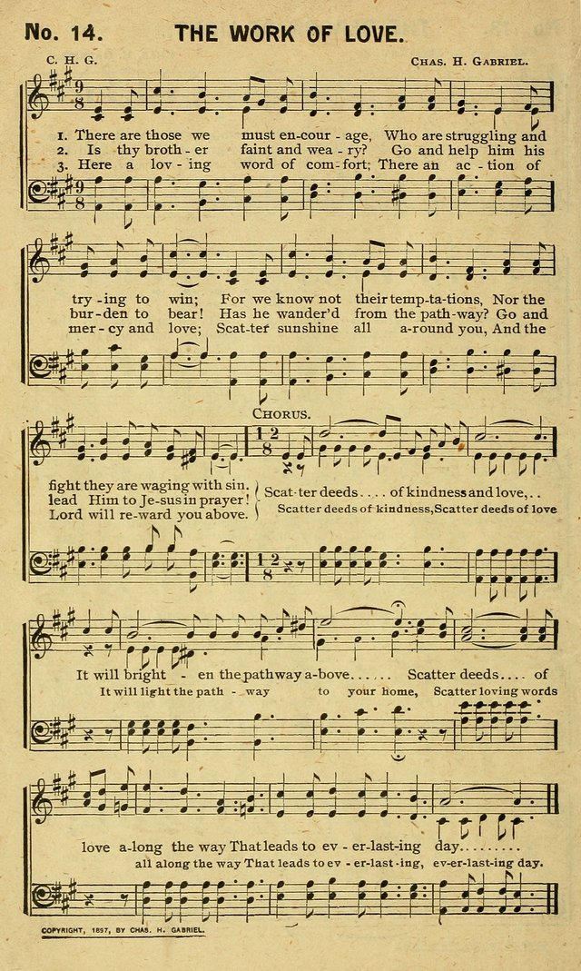 Special Songs: for Sunday schools, revival meetings, etc. page 14