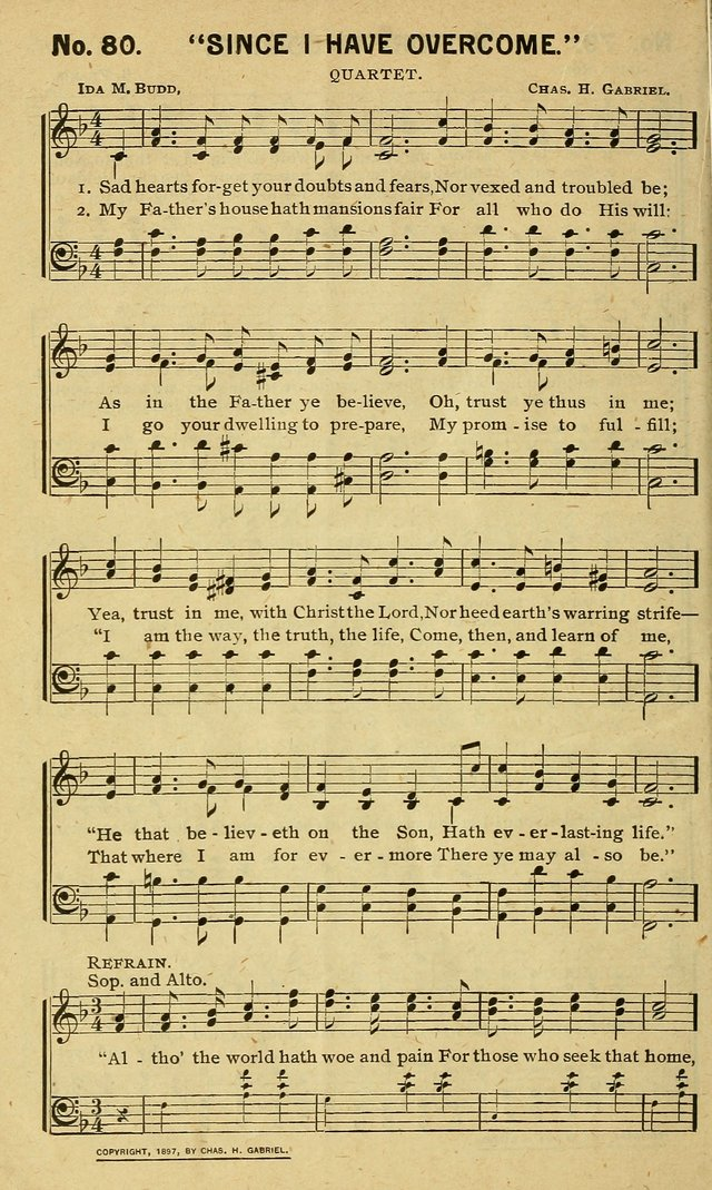 Special Songs: for Sunday schools, revival meetings, etc. page 80
