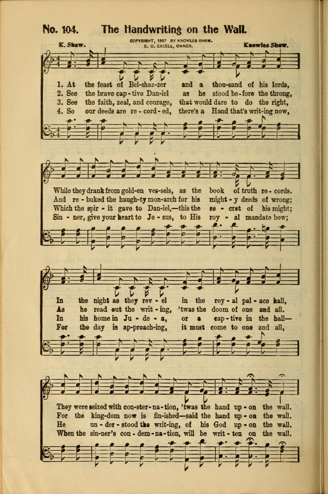 Service Songs for Young People's Societies, Sunday Schools