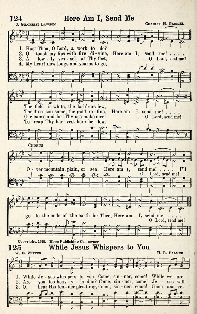 Standard Songs of Evangelism page 125