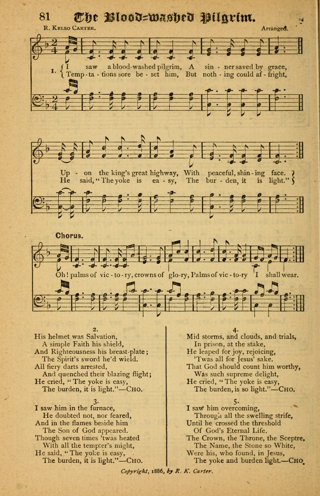 The Silver Trumpet: a collection of new and selected hymns; for use in public worship, revival services, prayer and social meetings, and Sunday schools page 64