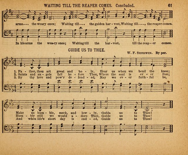 Song Worship for Sunday Schools page 60