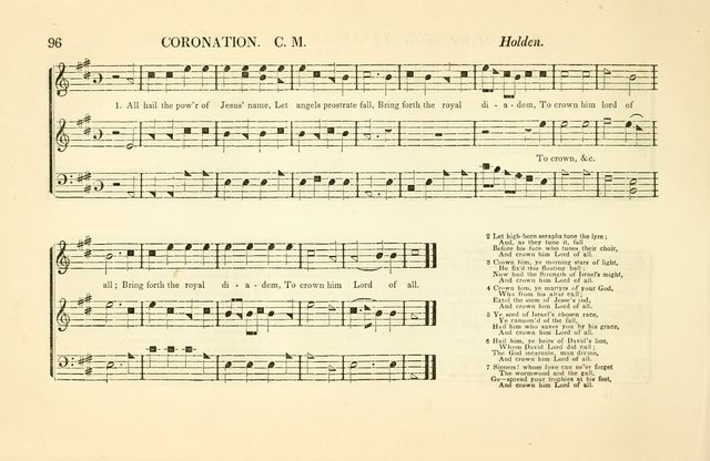 Southern and Western Pocket Harmonist: intended as an appendix to Southern Harmony; embracing the principle hymns, songs, choruses and revival tunes, usually sung at protracted and campmeetings... page 103