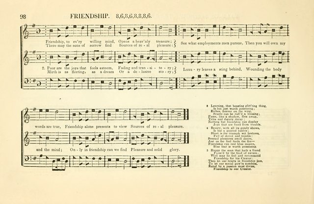 Southern and Western Pocket Harmonist: intended as an appendix to Southern Harmony; embracing the principle hymns, songs, choruses and revival tunes, usually sung at protracted and campmeetings... page 105