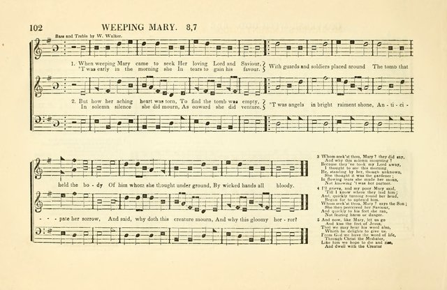 Southern and Western Pocket Harmonist: intended as an appendix to Southern Harmony; embracing the principle hymns, songs, choruses and revival tunes, usually sung at protracted and campmeetings... page 109