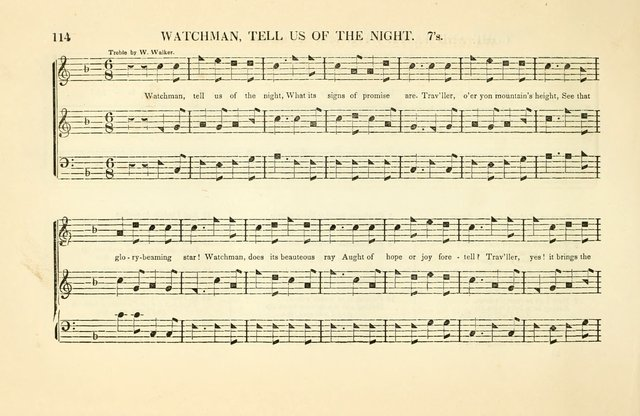 Southern and Western Pocket Harmonist: intended as an appendix to Southern Harmony; embracing the principle hymns, songs, choruses and revival tunes, usually sung at protracted and campmeetings... page 121