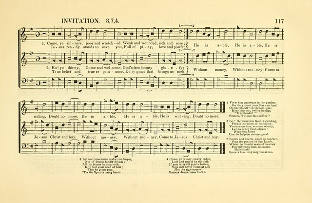 Southern and Western Pocket Harmonist: intended as an appendix to Southern Harmony; embracing the principle hymns, songs, choruses and revival tunes, usually sung at protracted and campmeetings... page 124