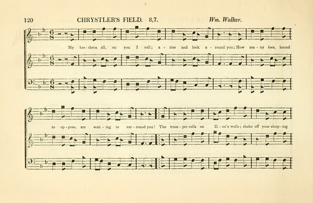Southern and Western Pocket Harmonist: intended as an appendix to Southern Harmony; embracing the principle hymns, songs, choruses and revival tunes, usually sung at protracted and campmeetings... page 127