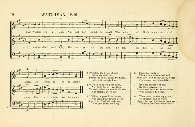 Southern and Western Pocket Harmonist: intended as an appendix to Southern Harmony; embracing the principle hymns, songs, choruses and revival tunes, usually sung at protracted and campmeetings... page 19