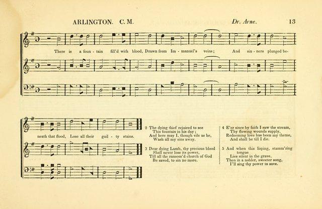 Southern and Western Pocket Harmonist: intended as an appendix to Southern Harmony; embracing the principle hymns, songs, choruses and revival tunes, usually sung at protracted and campmeetings... page 20
