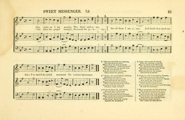 Southern and Western Pocket Harmonist: intended as an appendix to Southern Harmony; embracing the principle hymns, songs, choruses and revival tunes, usually sung at protracted and campmeetings... page 28