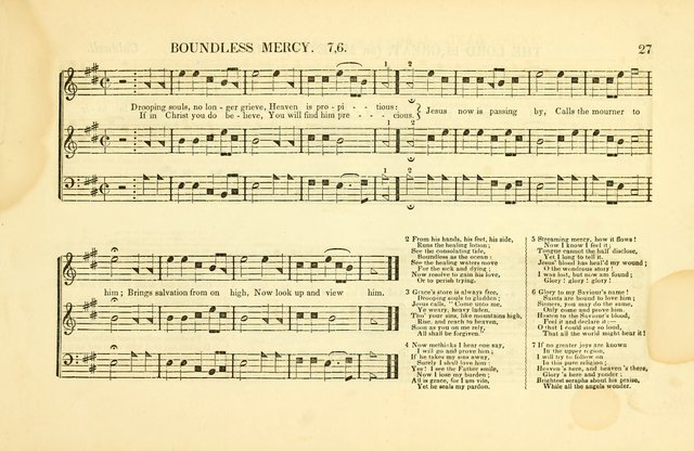 Southern and Western Pocket Harmonist: intended as an appendix to Southern Harmony; embracing the principle hymns, songs, choruses and revival tunes, usually sung at protracted and campmeetings... page 34