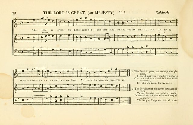 Southern and Western Pocket Harmonist: intended as an appendix to Southern Harmony; embracing the principle hymns, songs, choruses and revival tunes, usually sung at protracted and campmeetings... page 35