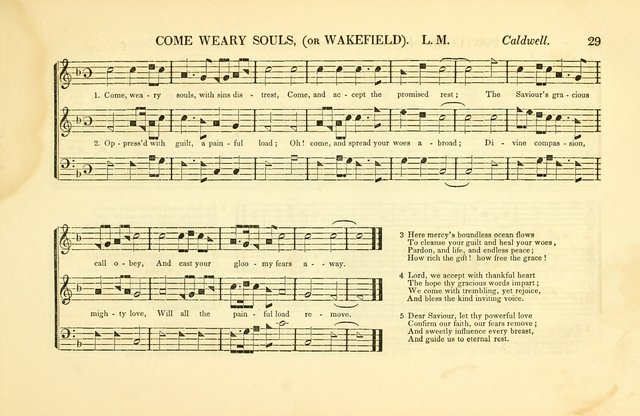 Southern and Western Pocket Harmonist: intended as an appendix to Southern Harmony; embracing the principle hymns, songs, choruses and revival tunes, usually sung at protracted and campmeetings... page 36