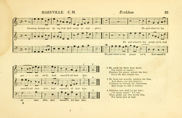 Southern and Western Pocket Harmonist: intended as an appendix to Southern Harmony; embracing the principle hymns, songs, choruses and revival tunes, usually sung at protracted and campmeetings... page 40