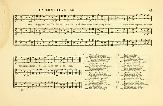 Southern and Western Pocket Harmonist: intended as an appendix to Southern Harmony; embracing the principle hymns, songs, choruses and revival tunes, usually sung at protracted and campmeetings... page 48