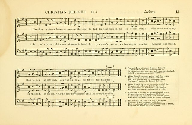 Southern and Western Pocket Harmonist: intended as an appendix to Southern Harmony; embracing the principle hymns, songs, choruses and revival tunes, usually sung at protracted and campmeetings... page 50