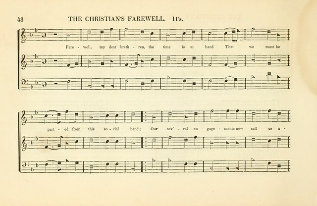 Southern and Western Pocket Harmonist: intended as an appendix to Southern Harmony; embracing the principle hymns, songs, choruses and revival tunes, usually sung at protracted and campmeetings... page 55